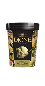 DIONE sicilijos pistaciju ledai